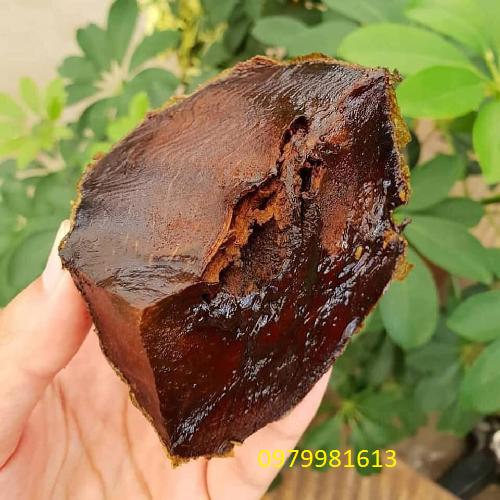 bên trong trái hồng socola